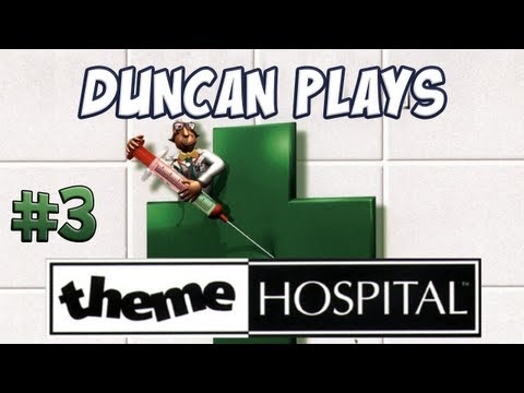Duncan Plays - Theme Hospital - Part 3 - The Slicer!