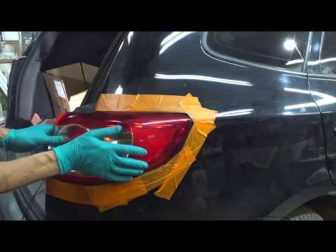 Hyundai Santa Fe 2011 рестайлинг - Снятие/Установка задней блок-фары. Removing the taillight.