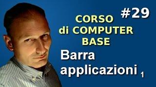 getlinkyoutube.com-Maggiolina - Corso di Computer Base - 29 Barra delle applicazioni 1p