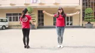 getlinkyoutube.com-[Flashmob Happy Day IV] Hướng dẫn nhảy Happy - Timber