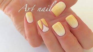 getlinkyoutube.com-Градиент Гель-Лаком! Растяжка (Омбре) Гель-Лаком! Spring Summer Nail Art