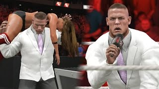 getlinkyoutube.com-WWE 2K17 Story - John Cena Turns on Nikki Bella