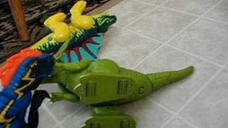 getlinkyoutube.com-dino epic battle part 2 Dilophosaurus vs Spinosaurus
