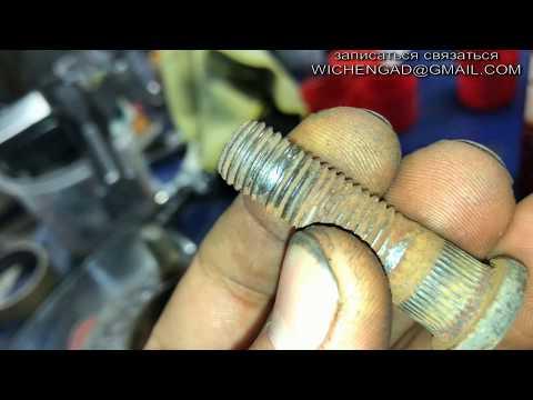 Замена шпильки колеса / Mazda CX7