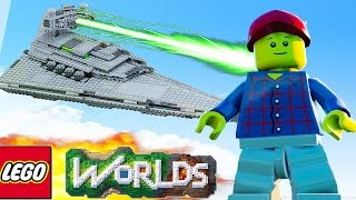 getlinkyoutube.com-LEGO Worlds - THE SPACESHIP BUILD! LEGO Land #17 - LEGO Worlds SpaceShip (LEGO Worlds)