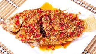 getlinkyoutube.com-ปลาทับทิมราดพริก