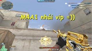 [ Bình luận CF ] M4A1 Noble Gold - Quang Brave