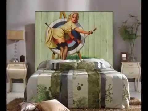 Cabeceros Vintage : Ideas Decoracion Vintage con Palets