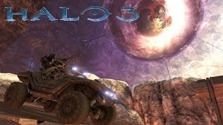 getlinkyoutube.com-Halo 3 Campaign Funny Moments - Escaping The Ark, Killing Johnson, and Destroying Halo!