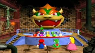 GCN Nostalgia - Mario Party 4:  All Battle Mini-games