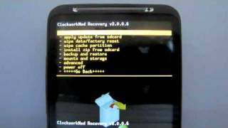 getlinkyoutube.com-HTC Inspire Rooted Android 2.3 Gingerbread