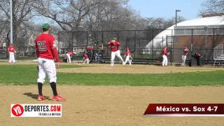 Mexico vs  Sox Benito Juarez Baseball League