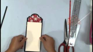 getlinkyoutube.com-How to make Photo Mats & Tag Toppers with Nesting dies