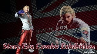 getlinkyoutube.com-Tekken Tag Tournament 2- Steve Fox Combo Exhibition- Untouchable