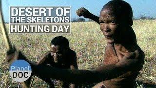 getlinkyoutube.com-Desert of Skeletons. Hunting Day | Tribes - Planet Doc Full Documentaries