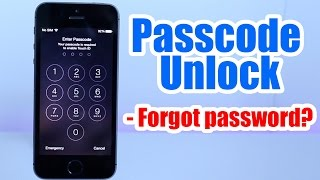 getlinkyoutube.com-Passcode Unlock Iphone 5, 5S, 5C, 6, 6 plus, 4s, 4, / Forgot Passcode / Iphone Disabled any iOS
