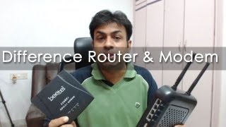 getlinkyoutube.com-Difference Between Modem & Routers - Geekyranjit Explains