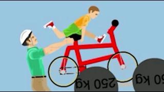 getlinkyoutube.com-PORTO MIO PADRE IN BICI! - [Happy Wheels Ep.130]