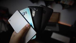 مقارنة بين جهاز Z3+ Vs G4 Vs M9 Vs S6 من الاقوى