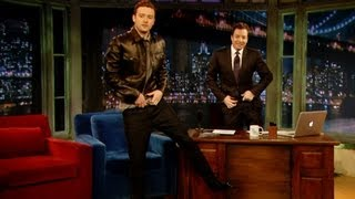 getlinkyoutube.com-Justin Timberlake's Jimmy Fallon Impression (Late Night with Jimmy Fallon)