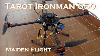 getlinkyoutube.com-Tarot Ironman 650 Quadcopter - Maiden flight