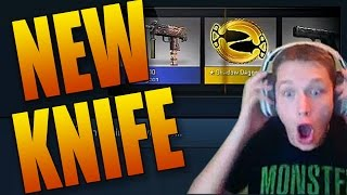 getlinkyoutube.com-I GOT THE NEW KNIFE! Shadow Daggers Unboxing Reaction (New CSGO Cases)