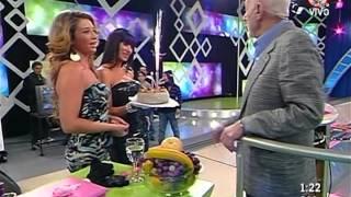 getlinkyoutube.com-Natali Masinari La Noche Del Domingo Upskirt Mini Bowling