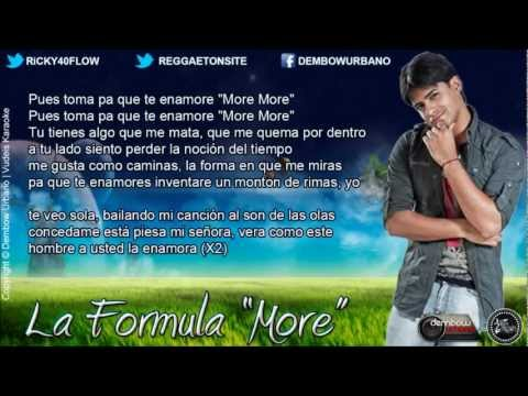 More Con Letra Zion Ft Jory, K
