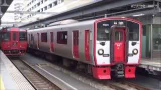 getlinkyoutube.com-JRおおいたシティ開業に合わせ、大分地区の普通列車で増結運転