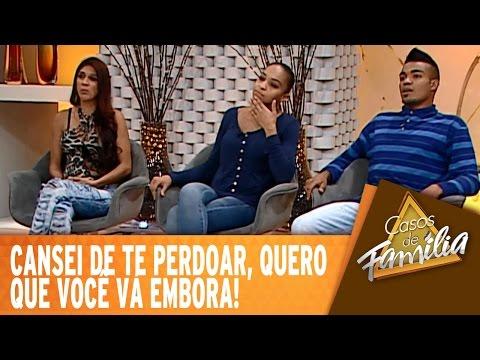 Casos De Família (24/09/14) - Cansei de te perdoar, quero que você vá embora!