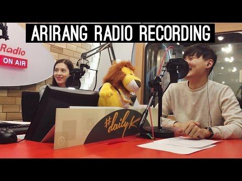 VLOG: Arirang Radio & Dakgalbi Goodbye Dinner (자막)국제커플 아리랑 라디오 방송 & 브이로그