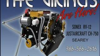 getlinkyoutube.com-Viking Engine, Viking Aircraft Engine, Viking Honda aircraft engine conversion