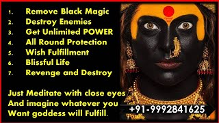 getlinkyoutube.com-Extremely Powerful Kali Mantra To Destroy Enemy 108 chants