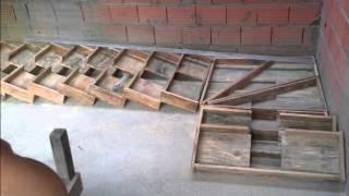 getlinkyoutube.com-escadas de concreto com viga central