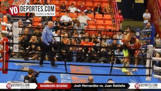 Josh Hernandez vs. Juan M Saldana Warriors Boxing