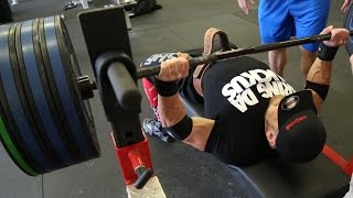 getlinkyoutube.com-INCREASE YOUR BENCH PRESS NOW! TIPS from Mark Bell: Featuring Marc Lobeliner