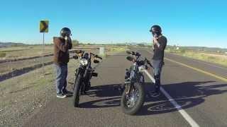 getlinkyoutube.com-2013 Harley Davidson | Forty Eight (48) Coloma Gold | Nightster | Iron 883 |Street Bob Black Denim