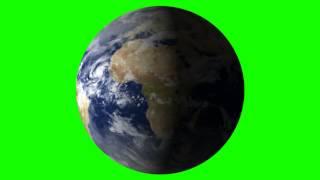 getlinkyoutube.com-earth in green screen free stock footage