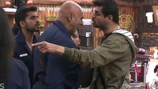 getlinkyoutube.com-Bigg Boss 8, Day 72 - Puneet Fights With Pritam During Luxury Task