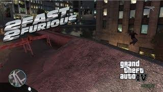 GTA IV LCPDFR Jason Statham Police Patrol - Fast and Furious 6 Spoiler Alert & Police Corvetter