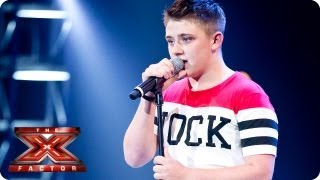 Nicholas McDonald sings I Won't Give Up by Jason Mraz -- Bootcamp Auditions -- The X Factor 2013