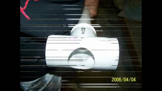 "getlinkyoutube.com-Golf Ball Cannon with 2"" piston valve"