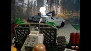 "getlinkyoutube.com-WW2 Lego - ""Operation Bagration"" -Tiger Tank Battle (Part 2)"