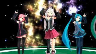 getlinkyoutube.com-【MMD】Galaxias Ft. Miku,Teto & IA【HD】