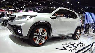 getlinkyoutube.com-2017, 2018 Subaru Forester is new 2016, 2017 Subaru Viziv Future concept