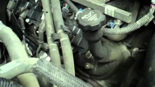getlinkyoutube.com-Chevy 5.3 liter lifter noise and motor flush solution How to