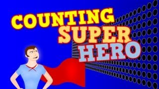 getlinkyoutube.com-COUNTING SUPER HERO!  (Counting by 1s to 100 for kids)
