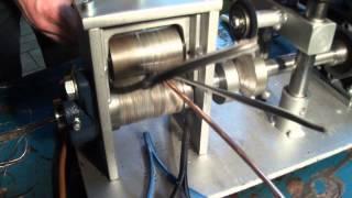 getlinkyoutube.com-Kabelschälmaschine bis Ø 50 mm, Kabelabisoliermaschine, Kupferschrott, Milberry