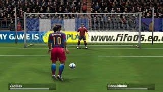 getlinkyoutube.com-Penalty Kicks from FIFA 94 to 17