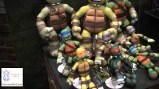 getlinkyoutube.com-Toy Fair 2014:TMNT walk through